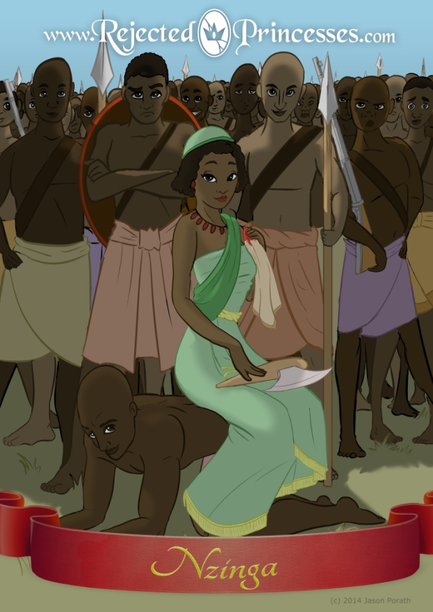 Rejected Princesses -- Nzinga Mbande