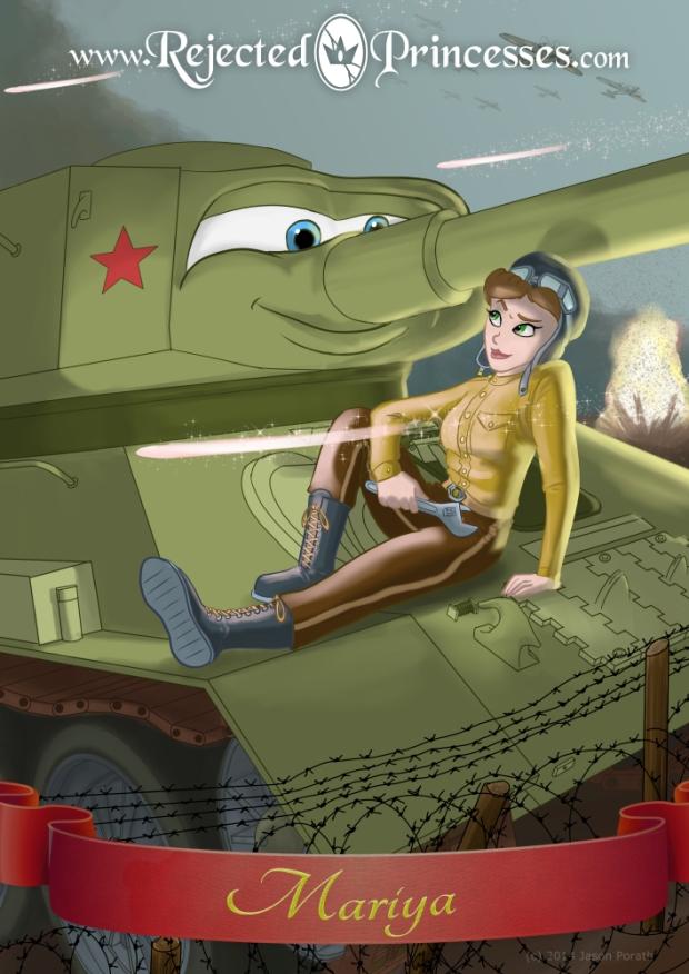 Rejected Princesses -- Sergeant Mariya Oktyabrskaya