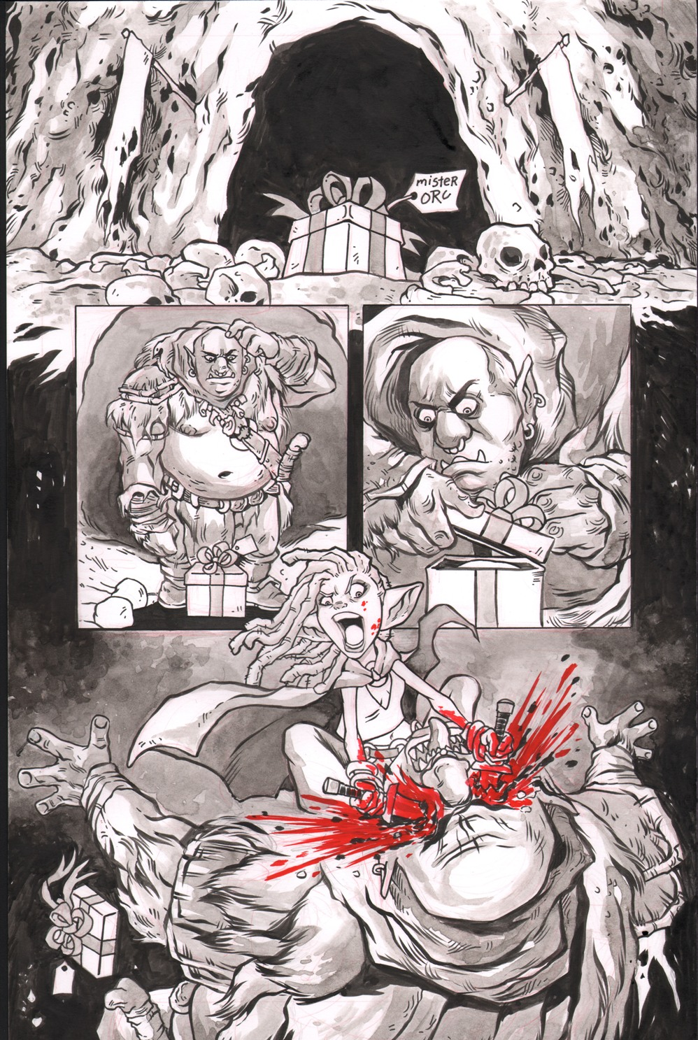Rat Queens one pager