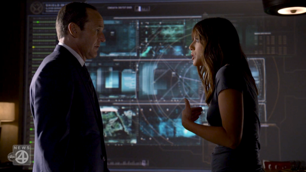 Agents of S.H.I.E.L.D. 5 - Coulson and Skye