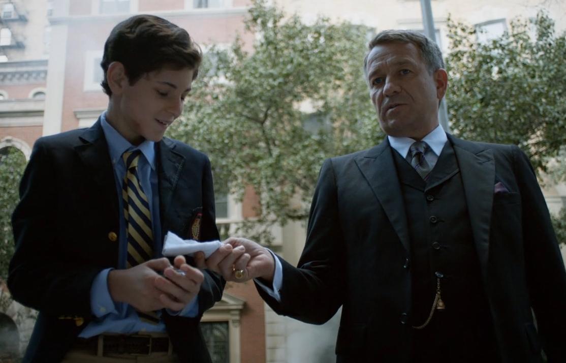 Gotham 8 - Bruce and Alfred
