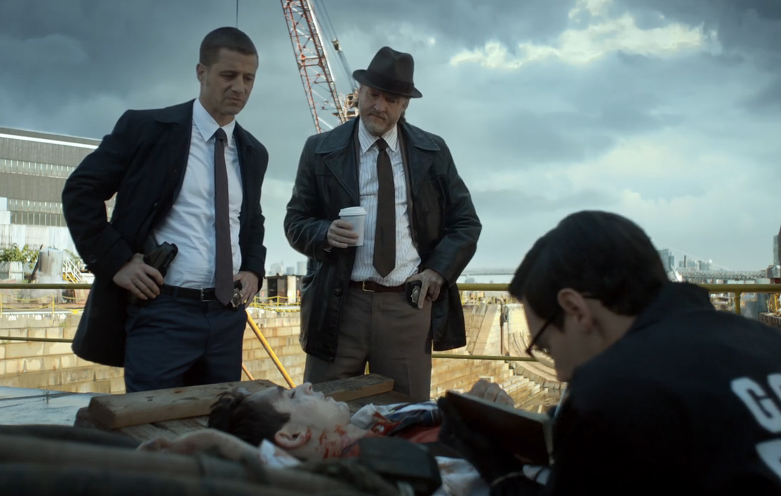 Gotham 8 - Gordon and Bullock