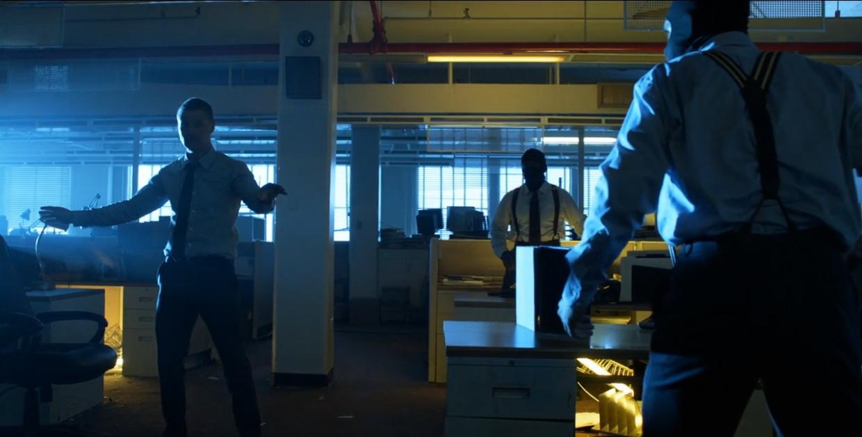 Gotham 8 - Office Fight Club
