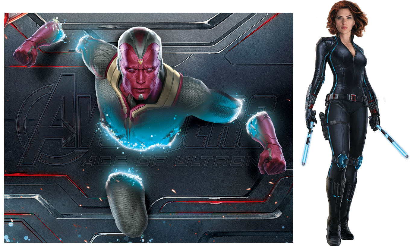 Avengers: Age of Ultron Promo Art Gives Us Vision's Origin ...