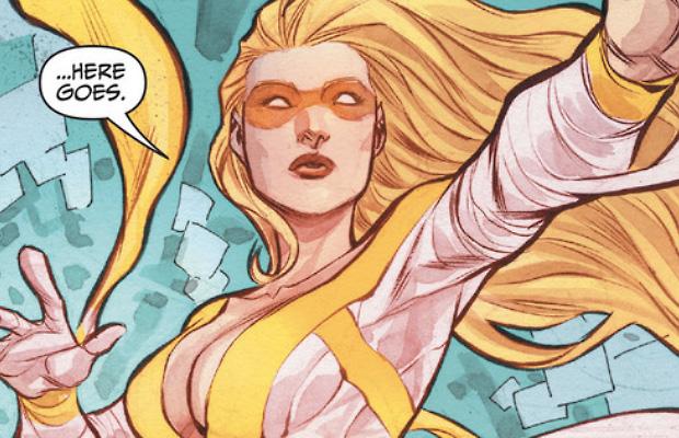 Resultado de imagem para patinadora dourada dc comics