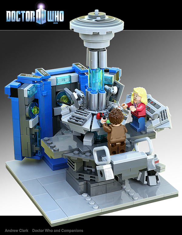 Want To See The Doctor Who Lego Set In Action Of Course You Do